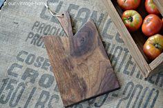 Medium Walnut Bread Board by vintagehomedesigns on Etsy