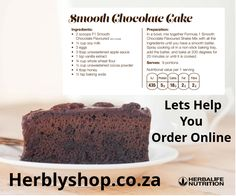 Herbalife Shop, Herbalife Products, Herbalife Nutrition, Soy Milk Ingredients, Cooking Oil, Chocolate Flavors, Tray Bakes, Healthy Recipes, Baking