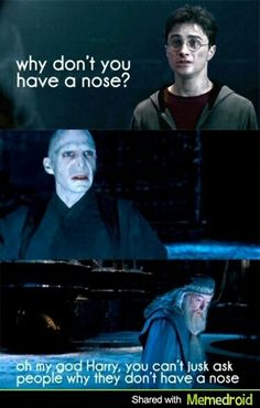 Dumbledore's face