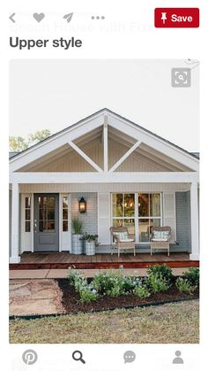 Adding A Front Porch To A Ranch Adding A Front Porch To A Ranch House Ranch Home Addition Front Porch Addition Ranch House Adding Front Porch To Ranch Style House Farmhouse Front Porches, Modern Farmhouse Exterior, Rustic Farmhouse, Farmhouse Design, Farmhouse Style, Rustic Porches, Farmhouse Ideas, Farmhouse Remodel, Craftsman Front Porches
