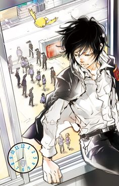 Forever the guardian of Namimori Middle School Hibari Kyoya- Katekyo Hitman Reborn Reborn Katekyo Hitman, Hitman Reborn, Anime Guys, Manga Anime, Anime Art, Reborn Anime, Kevedd, Manga Illustration, Mobile Wallpaper