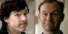 """The Holmes """"Thats nice, I really don't care"""" face. I can actually do that one...MAYBE IM REALLY A HOLMES. 0-0"""