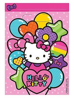 Hello Kitty Rainbow Loot Bag 8ct