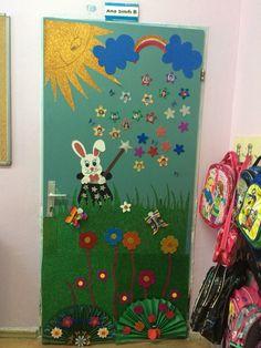 door decorations kapı süsleme preschool anadınıfı