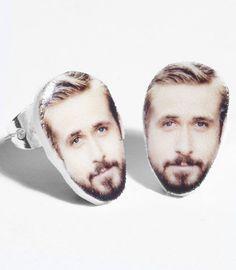 Accesoire des Tages: Die Ryan Gosling Ohrringe on http://www.drlima.net