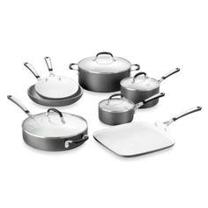 Simply Calphalon® Ceramic Nonstick 11-Piece Cookware Set - BedBathandBeyond.com