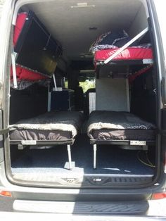 Sprinter 2009 camper conversion bunk beds