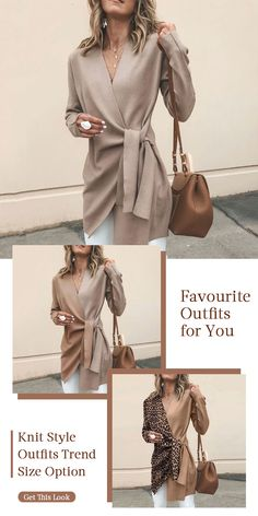 Favourite Knit Wear Women casual style knit wear, speical design and comfy warm sweaters you would l Look Fashion, Winter Fashion, Knit Fashion, Womens Fashion, Latest Fashion, Fashion Trends, Mode Outfits, Fashion Outfits, Shirt Bluse