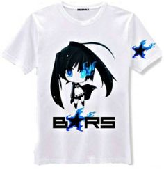 Awesome Black☆Rock Shooter shirt! $24  http://animeartposters.com/anime-black-rock-shooter-brs-shirt/  #anime #anime girls #black rock shooter #anime shirts