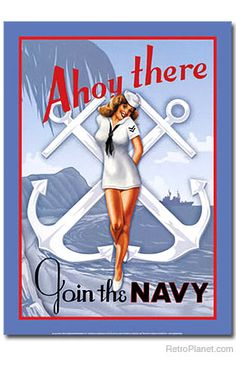 Navy Pinup Sign