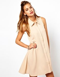 Enlarge Glamorous Western Shirt Dress
