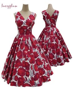 If I had a reason to wear this type of dress I would wear them constantly. I love this old look of the 50s. But everyone would ask me why I was soooo dressed up.