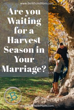 Are you waiting for a harvest in your marriage? Are you doing the work on your own heart, but still waiting for your husband to change? Marriage takes work and a Godly wife is worth her weight in gold.  Pray for your marriage, and see God break through!
