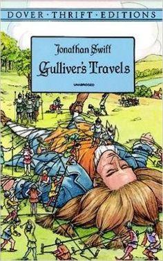 Amazon.com: Gulliver's Travels (Dover Thrift Editions) (0352040000541): Jonathan Swift: Books