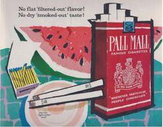 30 sorprendentes anuncios de tabaco de la época de 'Mad Men'
