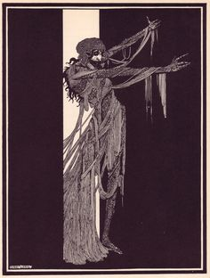 Harry Clarke (Ireland 1889-1931)- Illustrations for E. A. Poe: Tales of Mystery and Imagination