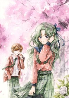 This has long been one of my favorite pieces of Haruka and Michiru