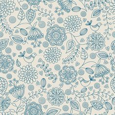 Floral pattern . stock vector art 13194517 - iStock