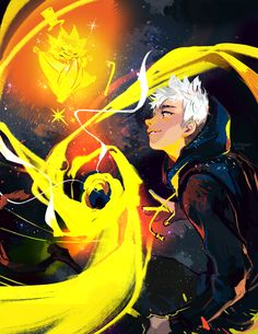Jack Frost & the Sandman by coida on Pixiv Dreamworks Animation, Disney And Dreamworks, Disney Pixar, Punk Disney, Disney Facts, Disney Movies, Disney Characters, Hiccup Jack, Guardians Of Childhood