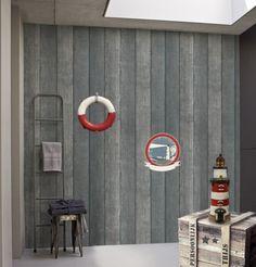 Behang met hout-look van verschillende merknamen van € 25 tot € 200 per rol in het assortiment bij Verfhandel Ree