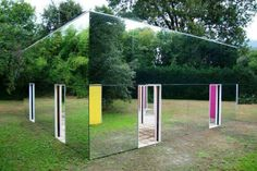 This is what a Mirror House looks like!