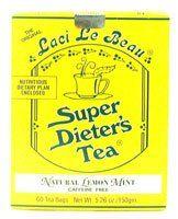 Lemon Mint variety of Laci Le Beau Laci Super Dieter's Tea $11.24 #LaciLeBeau