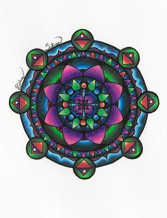Dark Mandala by SullivanArtwork.deviantart.com on @DeviantArt