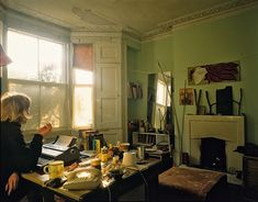 bedroom Tom Hunter on squatting in Hackney during the It gave my art a meaning and a purpose Casa Top, Humble Abode, My New Room, Future House, Room Inspiration, Living Spaces, Sweet Home, Room Decor, Interior Design