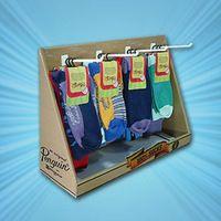 retail socks display stands Pos Display, Counter Display, Display Design, Store Design, Display Stands, Pallet Display, Craft Show Booths, Craft Booth Displays, Kraft Packaging
