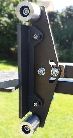 Metal Bending Tools, Metal Working Tools, Belt Grinder Plans, Knife Grinder, Cnc, Welding Gear, Knife Making Tools, Knife Patterns, Carport Designs
