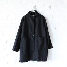 Pip-Squeak Chapeau Babette Coat Black
