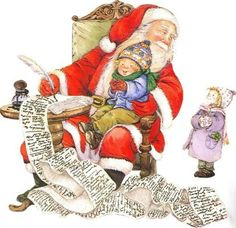 Lisi Martin is a Spanish artist and illustrator famous for her highly detailed and romanticized pictures of children. Lisi was born in Barcelona, Catalonia in Christmas Scenes, Very Merry Christmas, Father Christmas, Santa Christmas, Christmas Pictures, Vintage Christmas, Christmas Cards, Christmas Paintings, Christmas Illustration