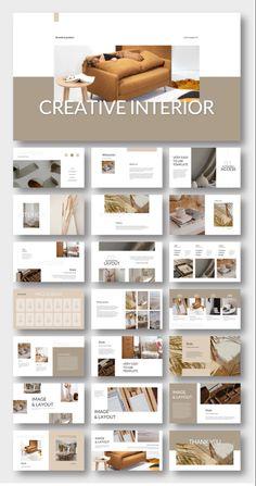 #presentation #business #PowerPoint #design #template #pptx #art #simple #digitalart #education #subjects #diy #fashion #work Interior Design Presentation, Presentation Design Template, Ppt Design, Layout Template, Brochure Design, Layout Design, Powerpoint Design, Portfolio Layout, Portfolio Design
