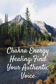 Chakra Energy Healing is something we could all use a little more of these days! Being mindful in nature is one way to open the chakras, but did you know your VOICE is a great tool you can use to heal your chakras and increase positive energy flow through your body, mind, and spirit? Learn how to use your voice to express your true self. Find your authentic voice right here! Click to read more, and be sure to grab my FREE 'Natural Mind Healing' report that will help you speak your truth! Meditation Kids, Mindfulness Meditation, Guided Meditation, Root Chakra Healing, Soul Healing, Crystal Healing, Chakras Explained, Healing A Broken Heart, Building Self Esteem