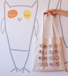 Handmade tote bag | Flickr - Photo Sharing!