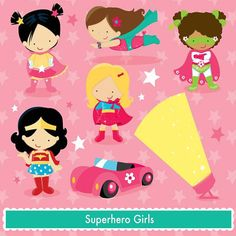 Wonder Girl Super Hero Centerpiece With Candy by itzwhimzeycal