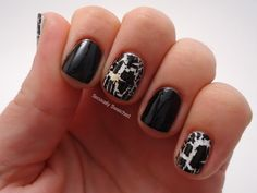 Seriously Swatched: Nail Art - Black and White