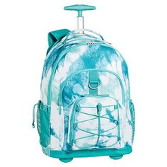15470bc39d5c Gear-Up Pool Tie-Dye Rolling Backpack  pbteen Girls Rolling Backpack