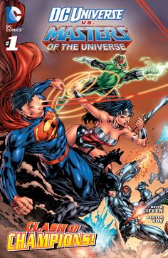 DC Universe vs. The Masters of the Universe 01
