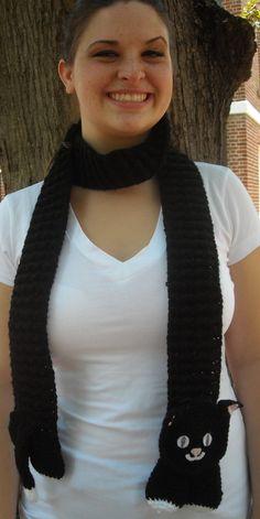 Black Cat scarf ♥