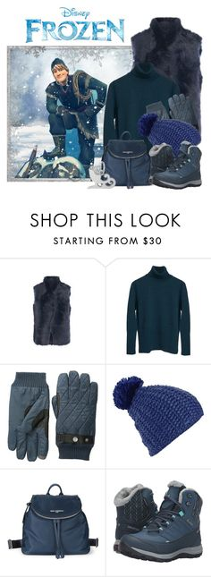 """Disney Inspired-Kristoff"" by dgia ❤ liked on Polyvore featuring Reiss, Original Penguin, Burton, Karl Lagerfeld, Salomon and Disney"