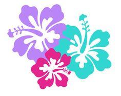 hibiscus silhouette svg dxf file instant download silhouette cameo cricut clip…