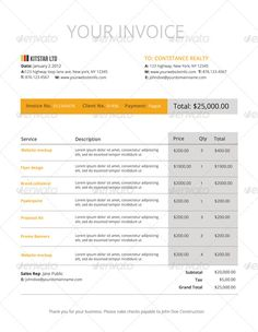 invoice like a pro design examples and best practices teaching