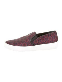Michael Kors Jacquard Slip-On Sneakers
