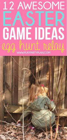 12 Easter games and activities that are perfect for Easter weekend! Everything from Easter egg hunt ideas to Easter minute to win it games! Easter Party Games, Easter Games For Kids, Halloween Party Games, Christmas Party Games, Games For Teens, Easter Activities, Easter Ideas, Easter Crafts, Easter Projects