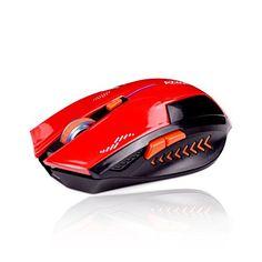 KLIM Souris Gaming Sans Fil Azzor 2400 DPI – Haute Précision – Clic silencieux