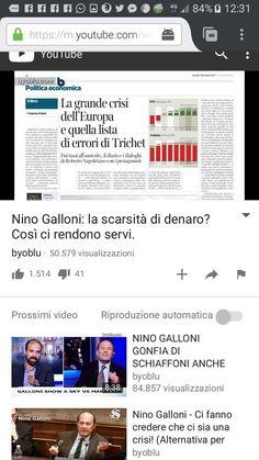 il popolo del blog,notizie,attualità,opinioni : Nino Galloni: la scarsità di denaro? Così ci rendo...