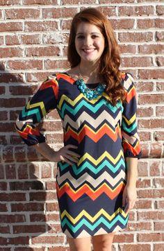 Karlie MY848837CHV Game Day Dress, Sorority, College - MY848837CHV