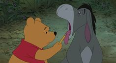 cute disney winnie the pooh sick eeyore Honey