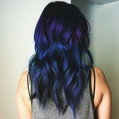 Ultimate Teal Ombre Hair Color Mermaid Hair Color Set Temporary Turquoise HairChalk Set of 6 Teal Ombre Hair, Hair Color Purple, Cool Hair Color, Dark Purple, Purple To Blue Ombre, Dark Blue Hair, Royal Blue Hair, Violet Hair, Dye For Dark Hair